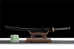 三枚夹钢铜装武士刀 武士刀 百炼花纹钢 ★★★