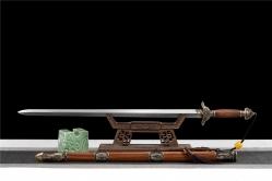 龙凤花纹钢清剑|龙泉刀剑|百炼花纹钢|★★★
